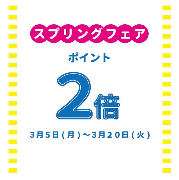 ★☆スプリングフェア ポイント2倍☆★