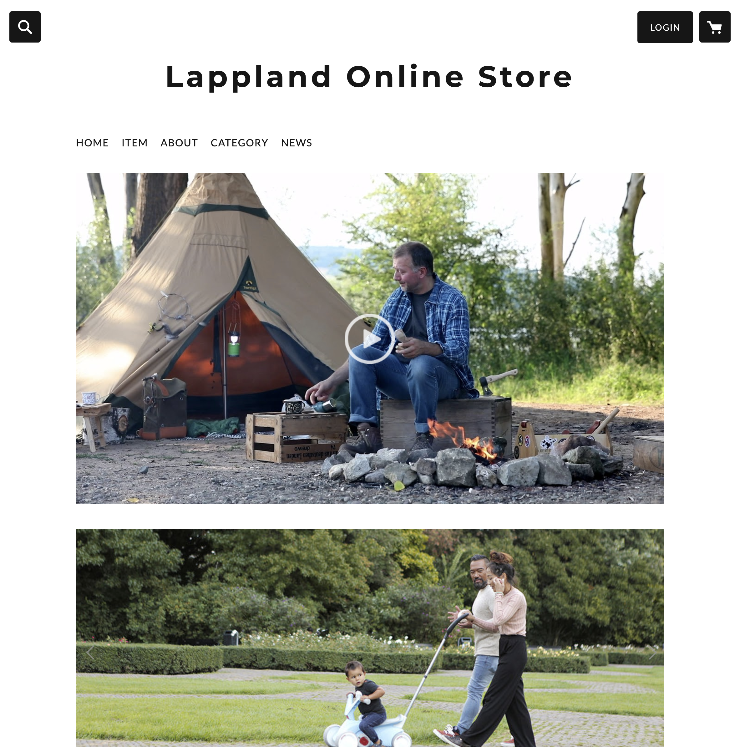 [Lappland Online Store] オープンです